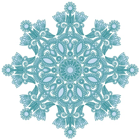 snow flake: ornate snowflake