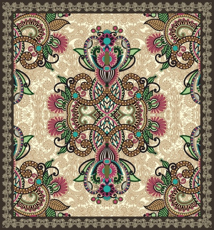Ornamental Seamless Carpet Design  Stock Vector - 12392476