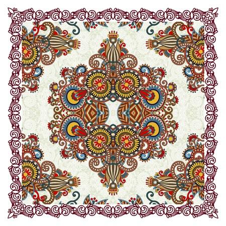 kerchief: Ornamental Floral Paisley Bandana