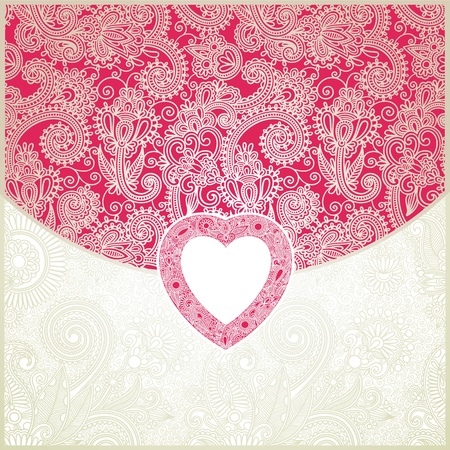 Valentines day vector background  Vector