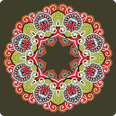 Circle ornament, ornamental round lace Stock Vector - 12392504