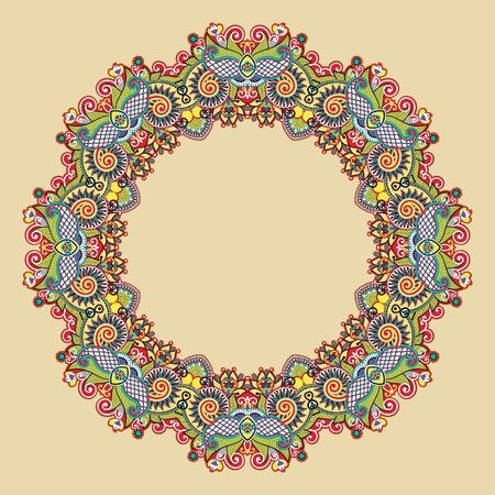 Circle ornament, ornamental round lace Stock Vector - 12392507