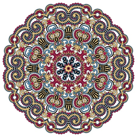Ornamento Círculo, encaje redonda ornamentales