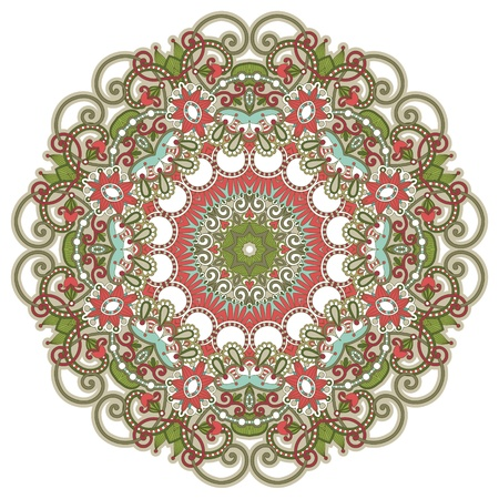 Circle ornament, ornamental round lace Stock Vector - 12392505
