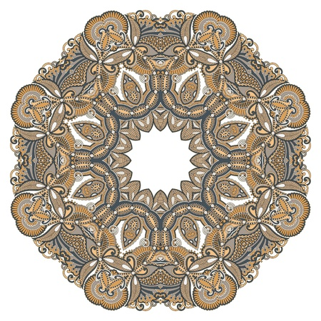 Circle ornament, ornamental round lace Stock Vector - 12976614