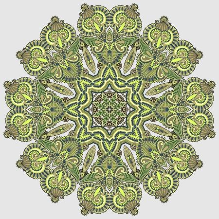 Circle ornament, ornamental round lace Stock Vector - 12976609