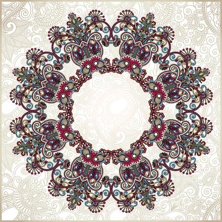 Circle ornament, ornamental round lace Stock Vector - 12976840