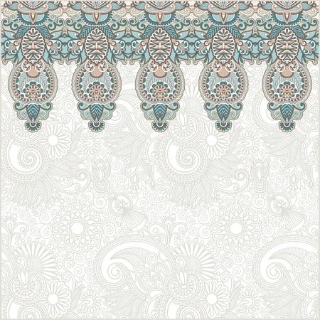 ornamental: Ornamental seamless stripe, decorative element