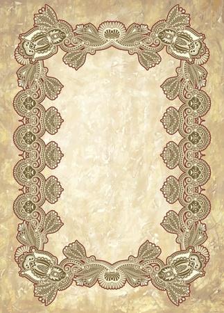 victorian wallpaper: ornamental floral vintage frame design