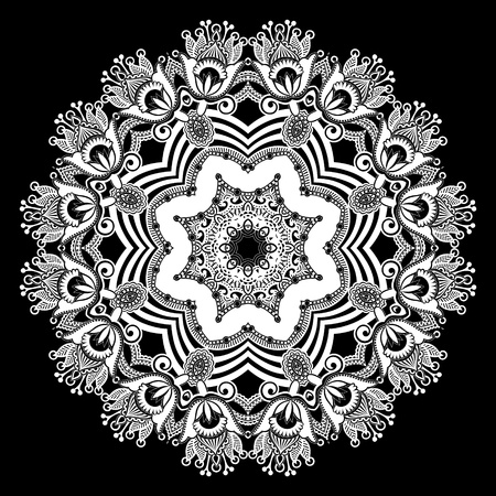radiant: Circle ornament, ornamental round lace
