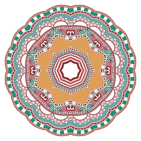Circle ornament, ornamental round lace Stock Vector - 13237349