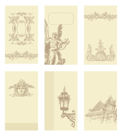classical vintage old frame design  Stock Vector - 13255323