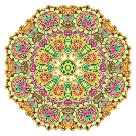 Circle ornament, ornamental round lace Stock Vector - 13440558