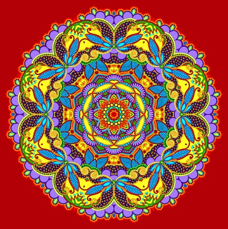 Circle ornament, ornamental round lace Stock Vector - 13440497