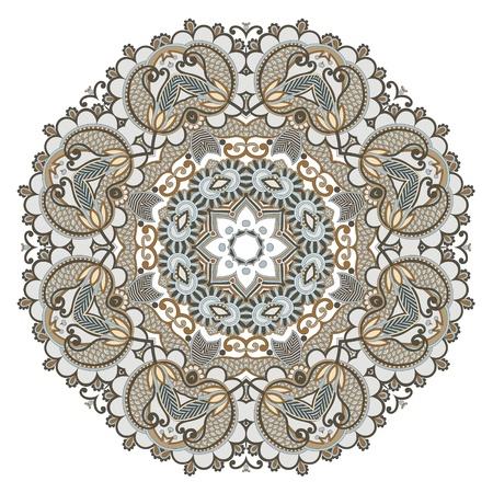 Ornement Cercle, de la dentelle autour d'ornement