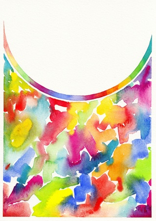 abstract watercolor painting background Stock Photo - 13756713