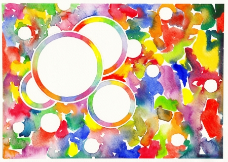abstract watercolor painting background  Stock Photo - 13756708