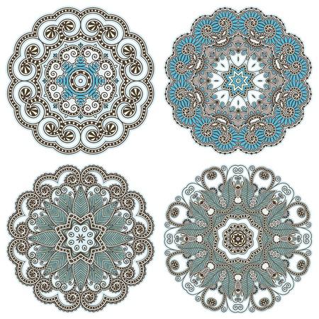 Circle ornament, ornamental round lace Stock Vector - 14957917