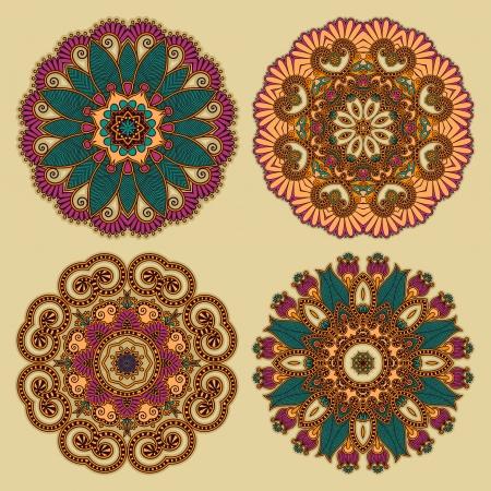 Circle ornament, ornamental round lace Stock Vector - 14957918