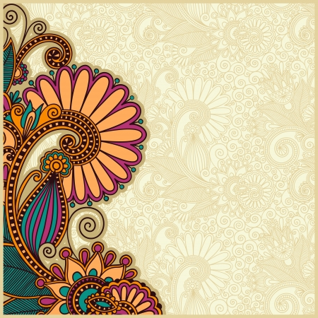 adverts: flower background design Illustration