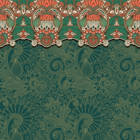 vintage ornamental template with place for your text Vector