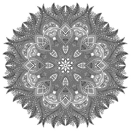 mandala tattoo: Circle ornament, ornamental round lace