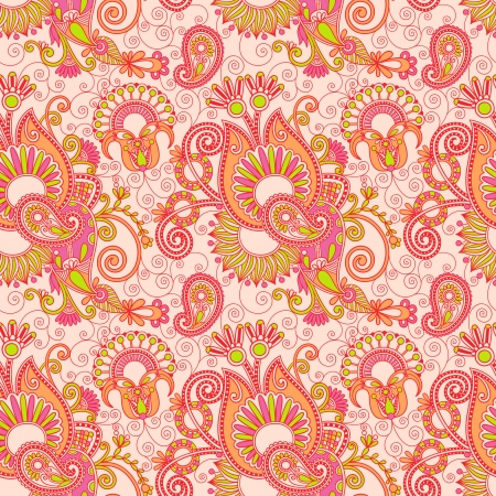 vintage floral seamless paisley pattern Stock Vector - 15110388