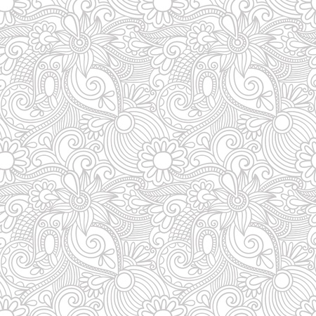 swirly design: Seamless wallpaper, vector background