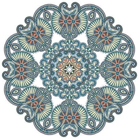 Cercle ornement, ornement dentelle ronde