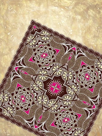 tissue paper: grunge background with carpet detail with place for your text. Hand made and hobby theme