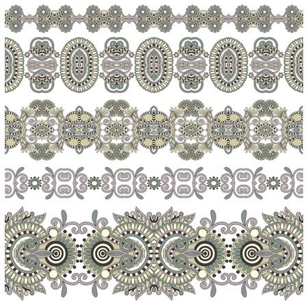 friso: colecci�n de costura rayas florales ornamentales
