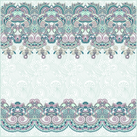 ornate floral background with ornament stripe Stock Vector - 15542284