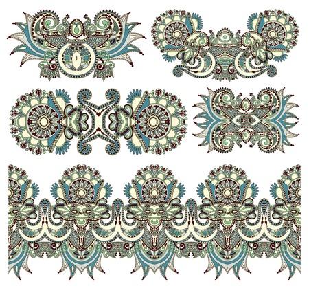 baroque ornament: ornamental floral adornment for your design