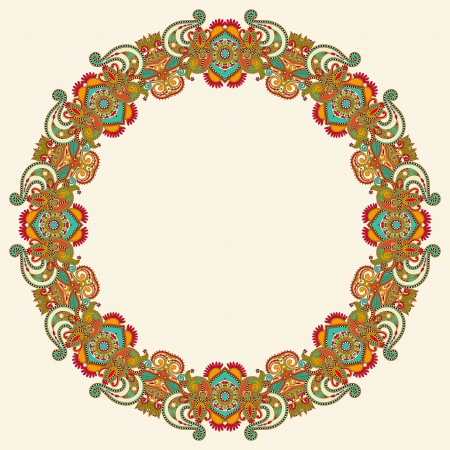 Circle ornament, ornamental round lace Stock Vector - 15552428