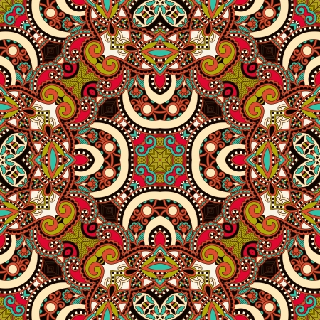head scarf: Traditional ornamental floral paisley bandanna. Ornament seamless background . You can use this pattern in the design of carpet, shawl, pillow, cushion