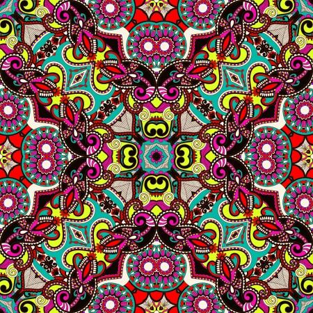 osmanisch: Traditionelle dekorative florale Paisleybandana. Ornament nahtlose Hintergrund. Sie k�nnen dieses Muster bei der Gestaltung des Teppichs verwendet, Schal, Kissen, Kissen