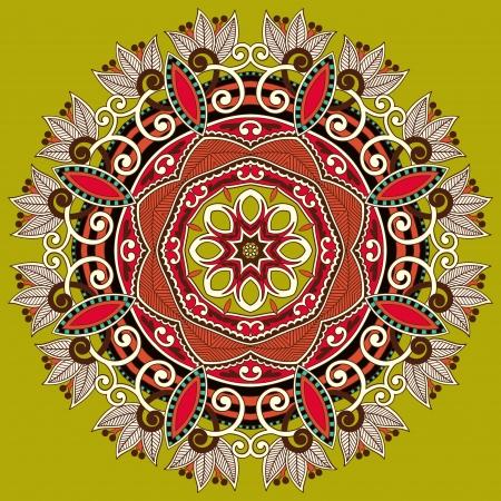 Circle ornament, ornamental round lace Stock Vector - 15552388