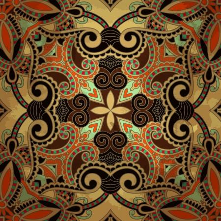 flower design on grunge background Stock Vector - 15555348