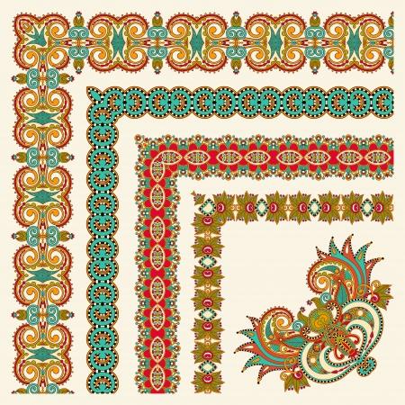 acanthus: collection of ornamental floral vintage frame design