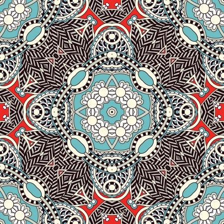 tu puedes: Tradicional ornamental floral pa�uelo de Paisley. Puede utilizar este patr�n en el dise�o de la alfombra, manta, almohada, coj�n Vectores