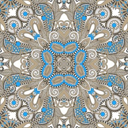 Traditionele sier bloemen paisley bandana. U kunt dit patroon in het ontwerp van tapijt, sjaal, kussen, kussen