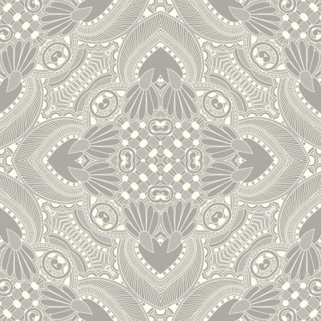 Traditional ornamental floral paisley bandanna. You can use this pattern in the design of carpet, shawl, pillow, cushion Stock Vector - 16513800
