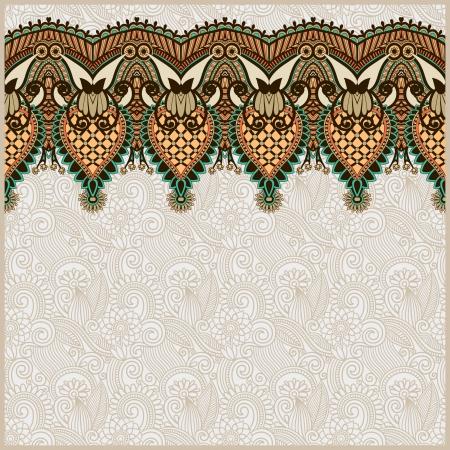 tissue texture: Ornamental seamless stripe, decorative element Illustration