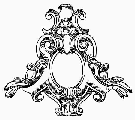 Decorative element of the facade of a historic building in Lviv (Ukraine) Stock Vector - 16557029