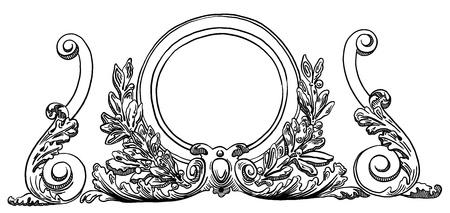 Lviv (ウクライナ) の歴史的な建物の設計要素をビンテージ スケッチの描画インク