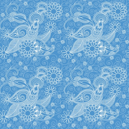 Seamless wallpaper, background Vector