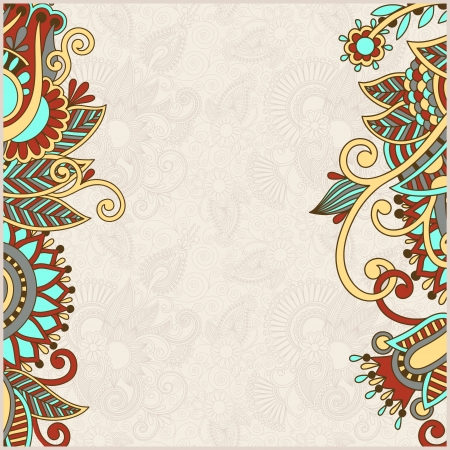 vintage ornamental template Vector