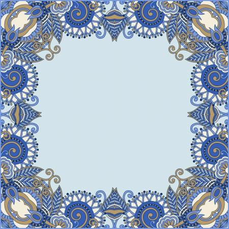 floral vintage frame Stock Vector - 16573157