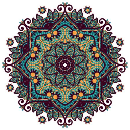 arabesque wallpaper: Cerchio ornamento, merletto rotondo ornamentali