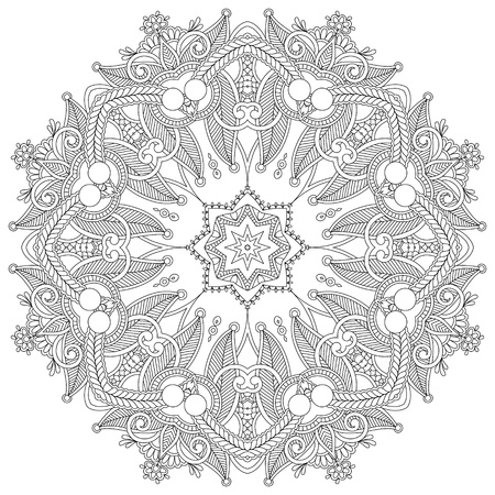 round: Circle ornament, ornamental round lace
